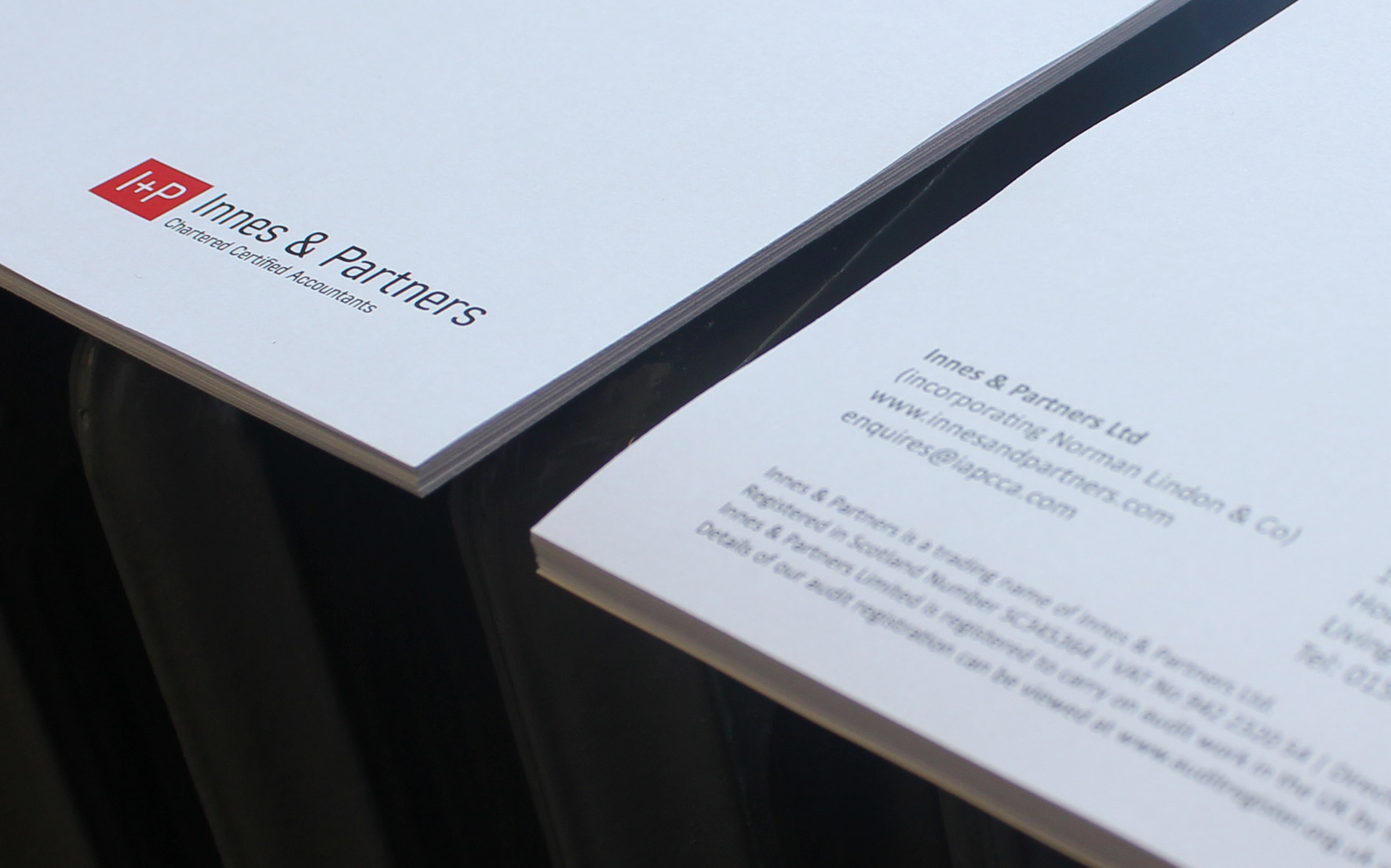 Innes & Partners Stationery