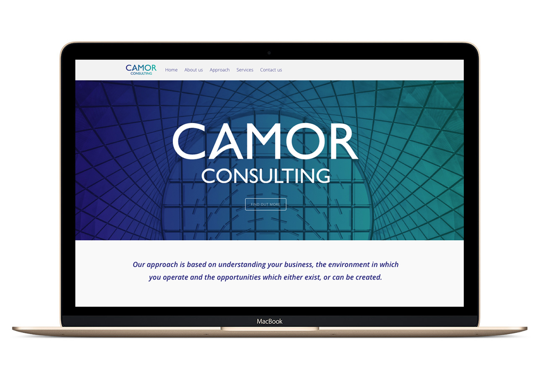 Camor Consulting Website